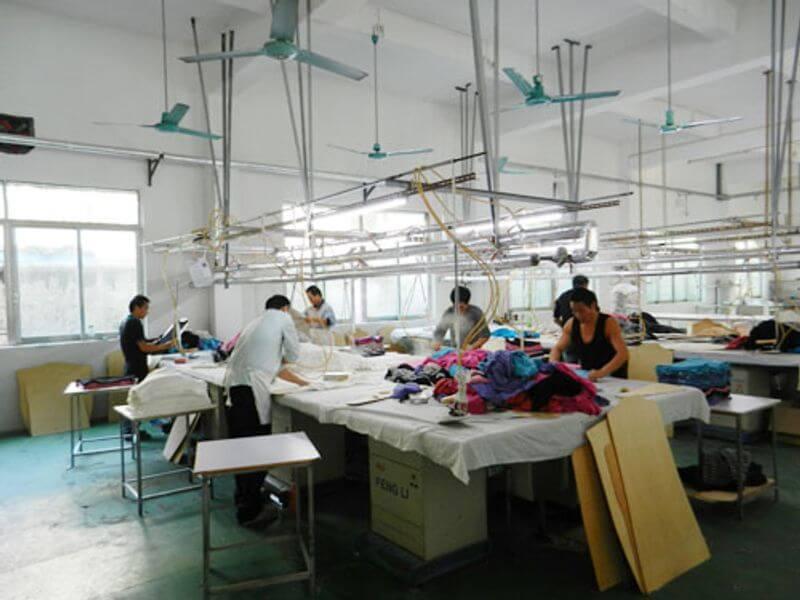 球衣製作過程