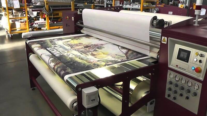 熱昇華轉印機器