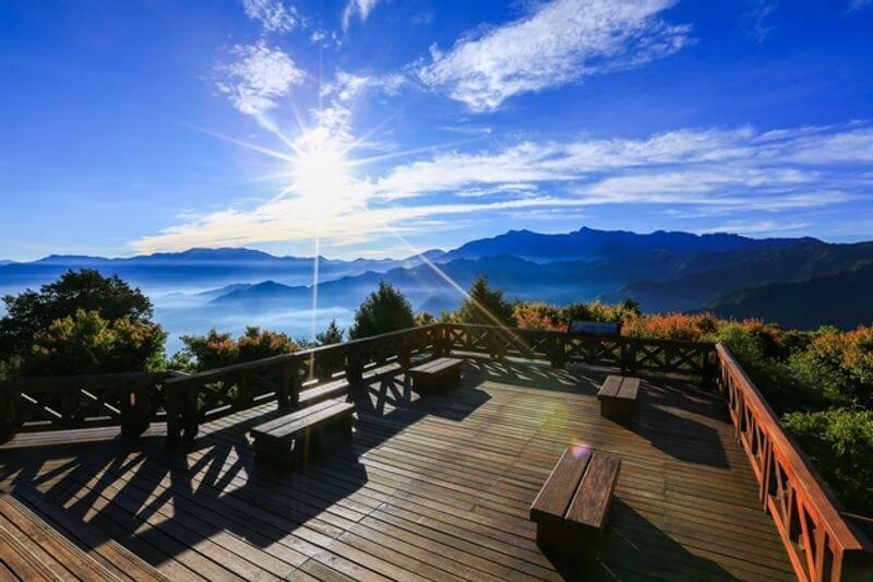 祝山觀景台