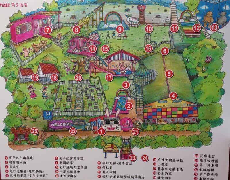 兔子迷宮地圖