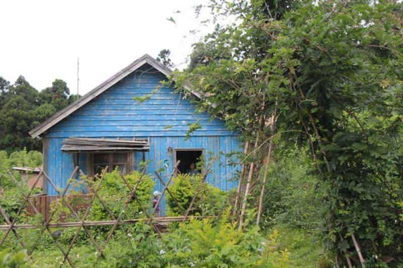 星空藍色小屋