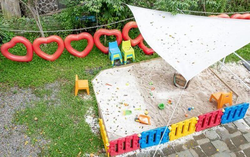 兔子迷宮沙堆